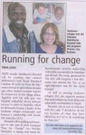 Karim and Run for Change