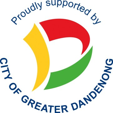 Proudly Supported by Greater Dandenong logo