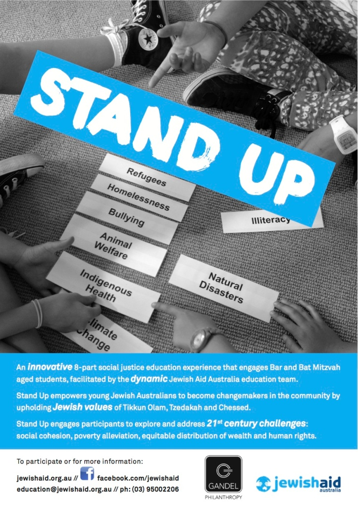 Stand Up flyer 2013