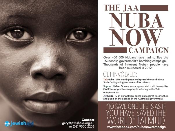 JAA Nuba Now Campaign