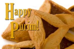 Hamantaschen - Purim food for mock Jewish cannibals